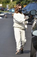Ashley Tisdale Keeps it casual in sweats to run errands in Los Angeles