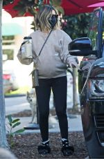 Ashley Tisdale Picking up lunch in LA