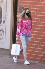 Cara Delevingne Steps out in Los Angeles