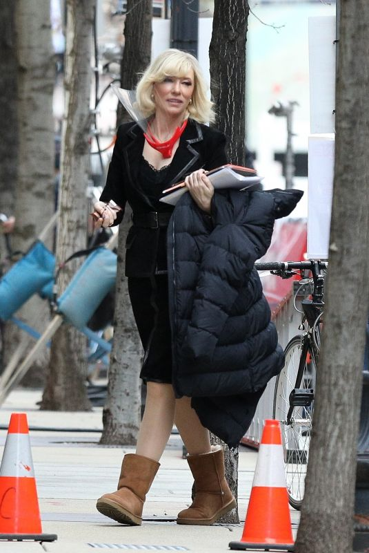 Cate Blanchett At the set of Don