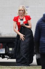Cate Blanchett On the set of Don´t look up in Westborough