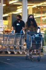 Chantel Jeffries Goes under the radar for some grocery shopping at Whole Foods in West Hollywood
