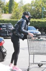 Charlize Theron Shopping at Bristol Farms in Beverly Hills