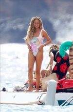 Chrissy Teigen Shows of her amazing body in St.Barth