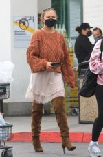 Chrissy Teigen Spotted making a grocery run in Beverly Hills
