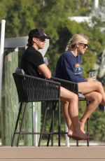 Claire Holt Spotted relaxing with her husband Andrew Joblon in Miami Beach