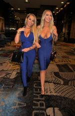 Claudia Fijal & Colleen McGinniss At Night out in Las Vegas