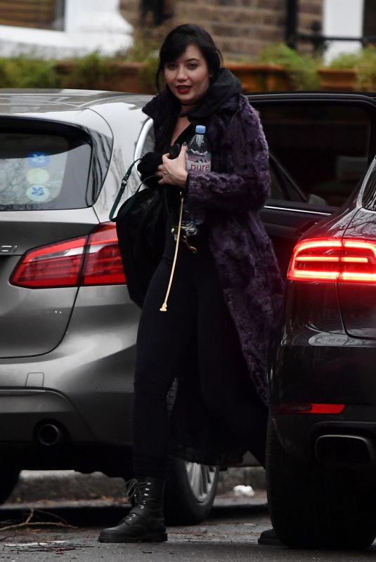 Daisy Lowe Spotted out on her birthday in London