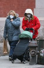 Diane Kruger Out in New York with her daughter