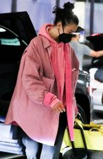 Dua Lipa Keeps it comfy casual as she touches down at LAX after enjoying a relaxing vacay with friends in Cancun