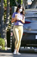 Eiza Gonzalez Gets coffee and has phone issue in West Hollywood
