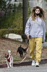 Elisabetta Canalis Seen walking her dogs in West Hollywood