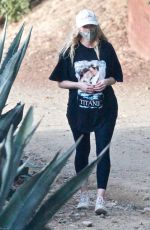 Elsa Hosk Is spotted hiking with partner Tom Daly in Los Angeles