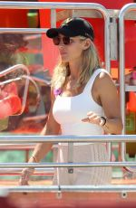 Elsa Pataky At Day out at Luna Park in Sydney