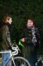 Emma Corrin & Helena Bonham Carter Bumped into each other while out in London