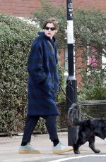 Emma Corrin Out in North London