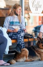 Emma Slater Seen with her husband in Los Angeles