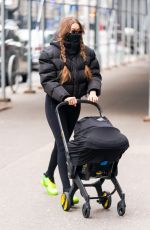 Gigi Hadid Out and about with her baby in New York City