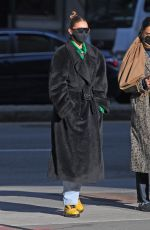 Gigi Hadid Seen out & about with her daughter in New York