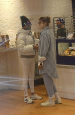 Gigi Hadid Spotted getting coffee with her mother in SoHo