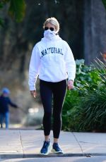 Gwyneth Paltrow Spotted on a long afternoon walk in Brentwood