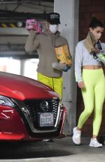 Hayley Erbert Seen leaving the gym in Los Angeles