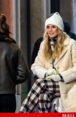 Heidi Klum Shooting a new episode of the 16th season of Germany