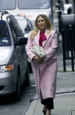 Hilary Duff Is seen on the set of Younger in New York