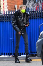 Hunter Schafer Out for coffee in Los Angeles