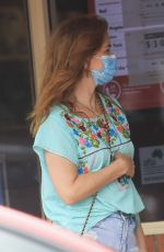 Isla Fisher Out in Byron Bay