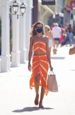 Izabel Goulart Out in St Barths