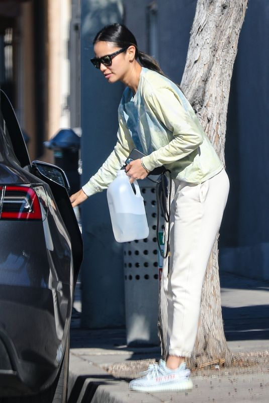 Jamie Chung Shopping at Whole Foods in West Hollywood