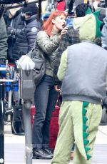 "Jennifer Lawrence Films a scene for ""Don"