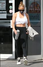 Jennifer Lopez At the gym for a workout in Miami