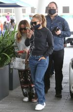 Jennifer Lopez Keeps it casual in jeans while out for lunch with friends in Miami