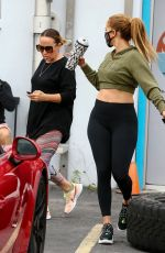 Jennifer Lopez Spotted at the gym in Miami