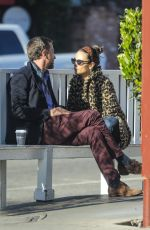 Jordana Brewster Enjoy a make-out session with her boyfriend in Brentwood