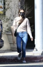 Jordana Brewster Out at Kreation Organic in Santa Monica