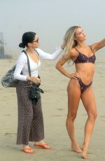 Joy Corrigan In bikini At photoshoot in Venice Beach