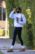 Kaia Gerber Going to workout in LA