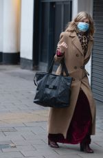 Kate Garraway Seen at Global Radio as she returns after the Xmas and New Year Break in London