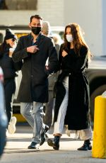Katie Holmes And Emilio Vitolo Jr keep close on a stroll in New York
