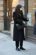 Katie Holmes And Emilio Vitolo Jr. are spotted out and about in chilly New York