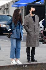Katie Holmes Out for a walk with her boyfriend in New York City