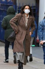 Katie Holmes Steps out on New Year