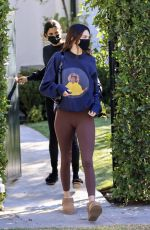 Kendall Jenner Looks incredible as she goes for a workout in Los Angeles