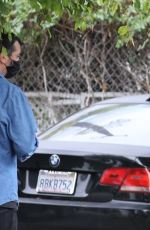 Kendall Jenner Spotted heading back to her car in Los Angeles