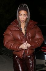 Kim Kardashian Puts on a brave face and keeps her ring on as she is seen out amid reports that she is set to divorce in LA