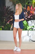 Kimberley Garner Out and about in Miami Beach