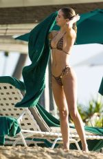 Kimberley Garner Shows off her stunning sexy beach body of Barbados at the beaches St. James Parish